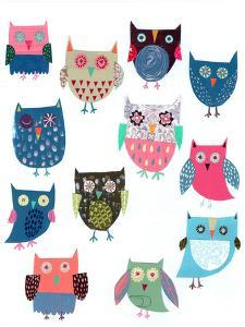 Lots Of Owls by Liz and Kate Pope