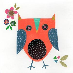 Orange Owl by Liz and Kate Pope