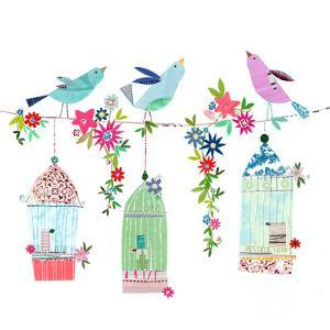 Pretty Bird Cages by Liz and Kate Pope