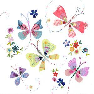 Pretty Flying Butterflies by Liz and Kate Pope