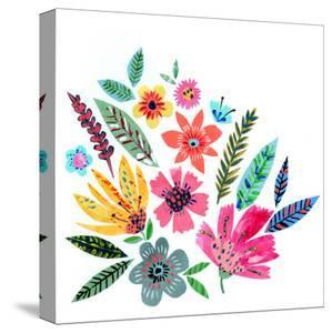Pretty Summer Flowers by Liz and Kate Pope