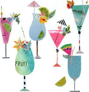 Six Fruity Cocktails by Liz and Kate Pope