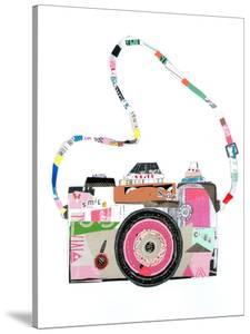 Smile Pink Camera by Liz and Kate Pope