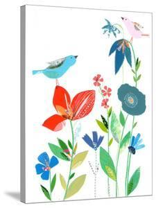 Spring Flowers & Birds by Liz and Kate Pope