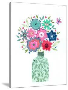 Vase & Flowers by Liz and Kate Pope