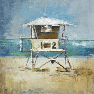 Lifeguard Tower by Liz Jardine