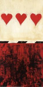 Three of Hearts by Liz Jardine
