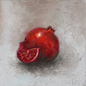 Painted Fruit I by Liz Nichols