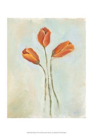 Painted Tulips II