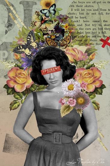 Liz Taylor-Elo Marc-Giclee Print