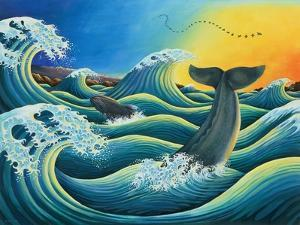 Celebration of the Whale, 1995 by Liz Wright