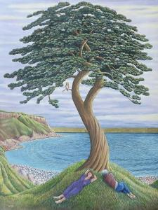 Dreaming of Trees on Portland, 2001 by Liz Wright