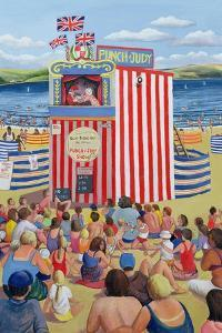 Punch and Judy, 1999 by Liz Wright