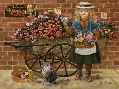 Liza Flower Girl-Lee Dubin-Giclee Print