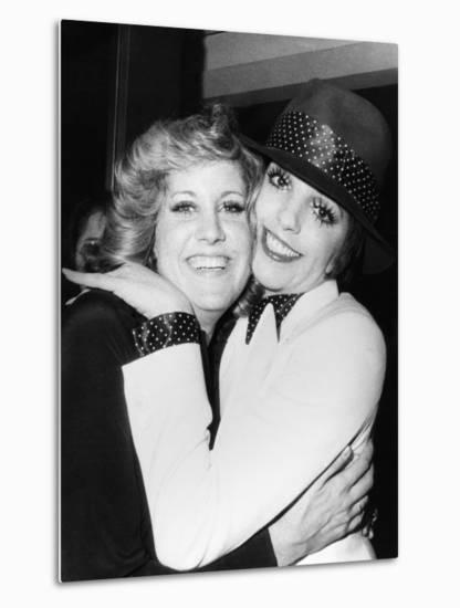 Liza Minnelli (Right) and Her Half-Sister Lorna Luft, Both Daughters of  Judy Garland Photo by | Art com