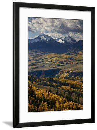 Lizard Head and Yellow Aspens in the Fall-James Hager-Framed Photographic Print