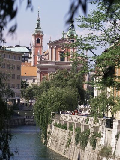 Ljubliana, Slovenia-Charles Bowman-Photographic Print