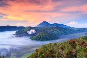 Bromo Volcano at Sunrisetengger Semeru National Park East Java Indonesia by lkunl