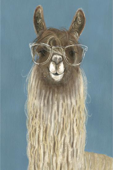 Llama Specs IV-Victoria Borges-Premium Giclee Print