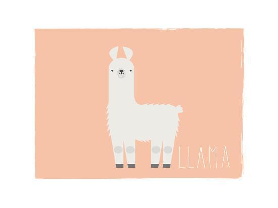 Llama-Kindred Sol Collective-Art Print