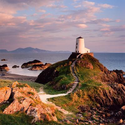 Llanddwyn Lighthouse-Osian Rees-Photographic Print