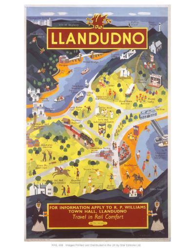Llandudno for Information--Art Print