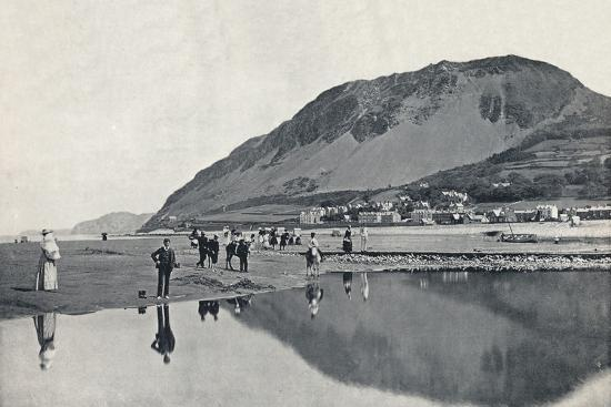 'Llanfairechan - The Village and Penmaenmawr Mountain', 1895-Unknown-Photographic Print
