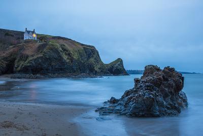 Llangrannog Beach, Ceredigion (Cardigan), West Wales, Wales, United Kingdom, Europe-Billy Stock-Photographic Print