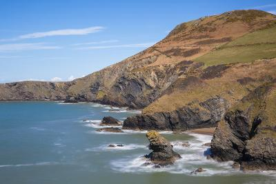 Llangrannog Beach, Ceridigion (Cardigan), West Wales, Wales, United Kingdom, Europe-Billy Stock-Photographic Print
