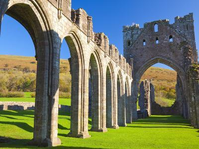 Llanthony Priory, Brecon Beacons, Wales, United Kingdom, Europe-Billy Stock-Photographic Print