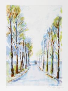 French Road by Lloyd Lozes Goff