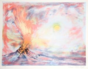 Volcano by Lloyd Lozes Goff