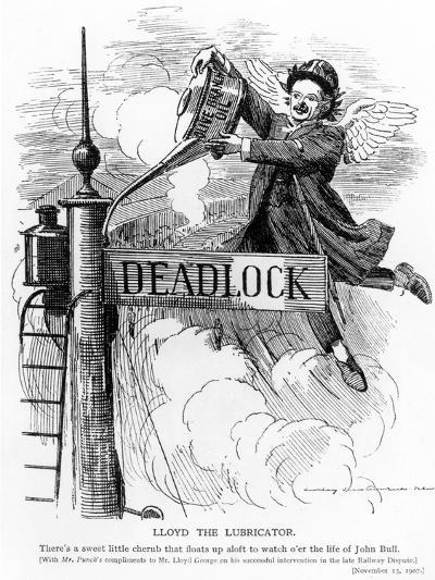 Lloyd the Lubricator, from Punch Magazine, November 13, 1907--Giclee Print