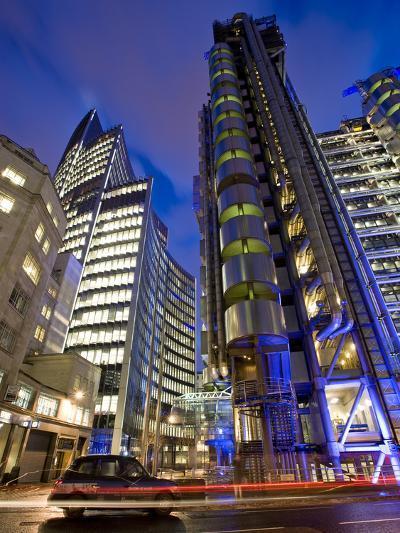 Lloyds Building, City of London, London, England, United Kingdom, Europe-Ben Pipe-Photographic Print