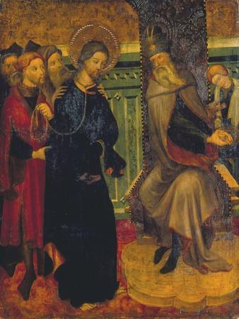 Christ before Pilate, c.1420-1425