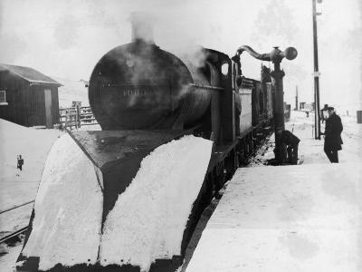 Lms Snowplough--Photographic Print