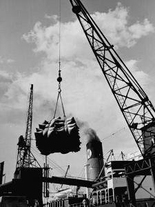 Loading Coffee on a Ship of the American Line, Mccormick