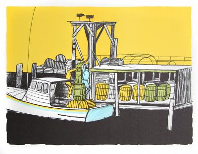 Loading the Boat-Arthur Seiden-Collectable Print