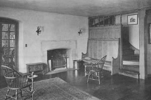 Lobby and stairs to womens lockers, Oakland Golf Club, Bayside, New York, 1923