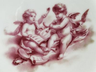 Lobed Plate with Putti, 1798--Giclee Print
