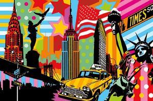 New York Taxi I by Lobo