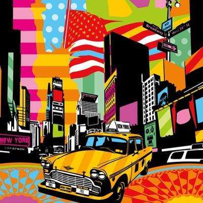 New York Taxi II by Lobo