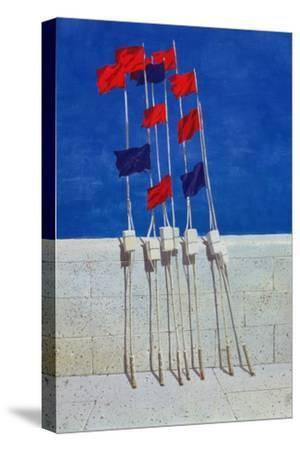 Lobster Buoys, 1990s-Lincoln Seligman-Stretched Canvas Print