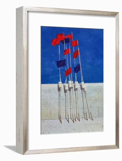 Lobster Buoys, 1990s-Lincoln Seligman-Framed Giclee Print
