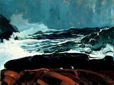 Lobster Cove, Monhegan, Maine, 1913-George Wesley Bellows-Giclee Print