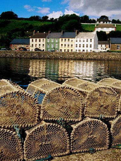 Lobster Pots on Dock, Bantry, Munster, Ireland-Richard Cummins-Photographic Print