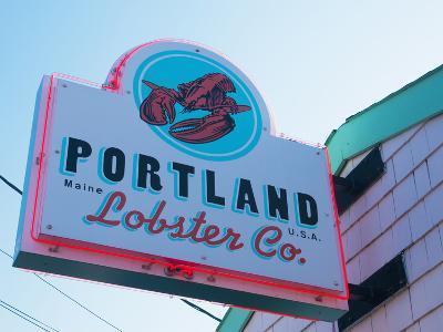 Lobster Restaurant, Portland, Maine, New England, United States of America, North America-Alan Copson-Photographic Print