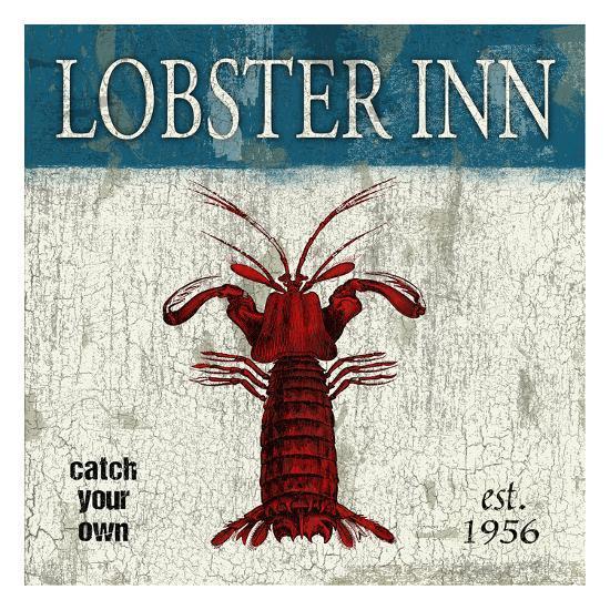Lobster-Jace Grey-Art Print