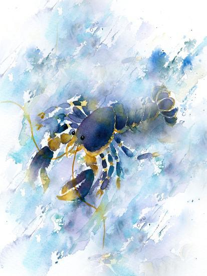 Lobster-Rachel McNaughton-Art Print