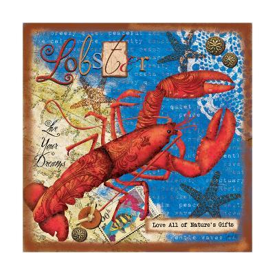 Lobster-Victoria Hutto-Art Print